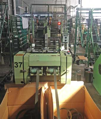 Hemp Webbing Machine