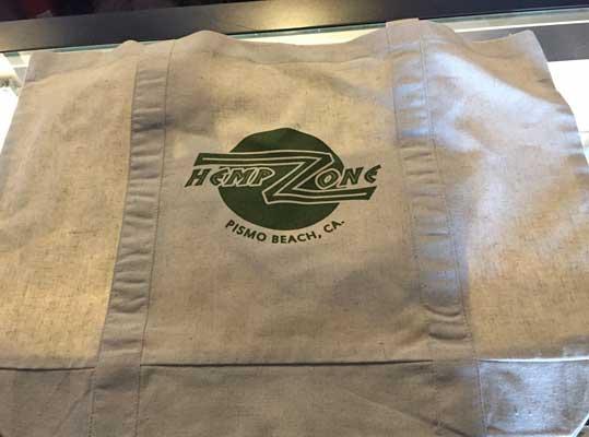 Branded Hemp Bag